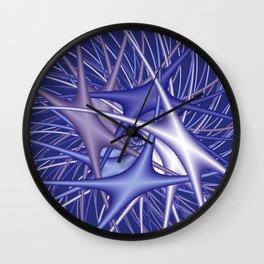 chaotic colors -3- Wall Clock