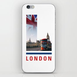 L-ondon iPhone Skin