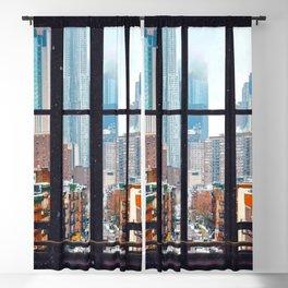 New York City Window Blackout Curtain