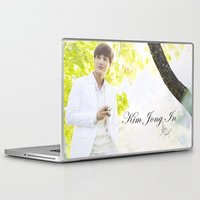exo Laptop & iPad Skins featuring EXO Kai by TheRmickey