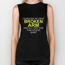 I Survived My Broken Arm Surgery Biker Tank