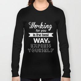 Inspiring Poster #2 Long Sleeve T-shirt