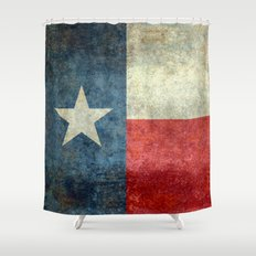 Texas flag Shower Curtain