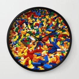 A Sea Full of Legos Wall Clock