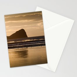 Rhossili beach and Worms Head Stationery Cards