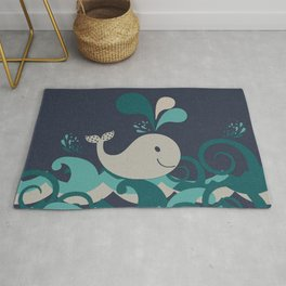 A Whale Of A Time Rug