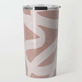 Abstract Flow I Travel Mug