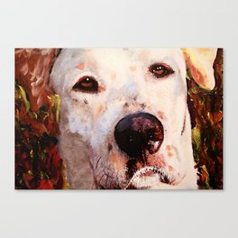 Monster The Dog Canvas Print