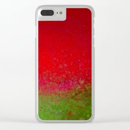 The Grass is Greener Clear iPhone Case
