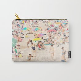 Beach Crowd Carry-All Pouch