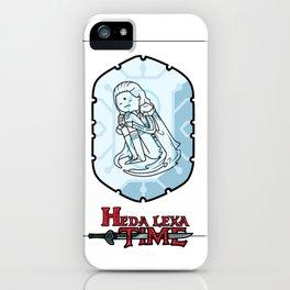 Heda Lexa Time iPhone Case
