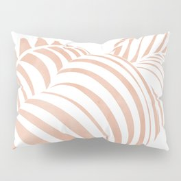 white shadow Pillow Sham