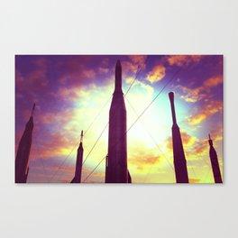 Candy Rockets Canvas Print