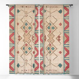 Moroccan Traditional Design Blackout Curtain