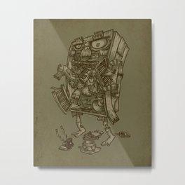 The Walkin' Closet Metal Print