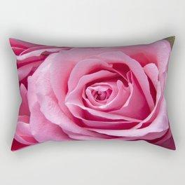 Simple & Floral Rectangular Pillow