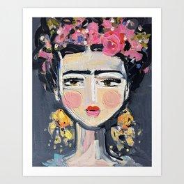 Fine Frida Art Print