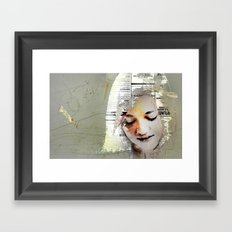 A Girl Named E Framed Art Print