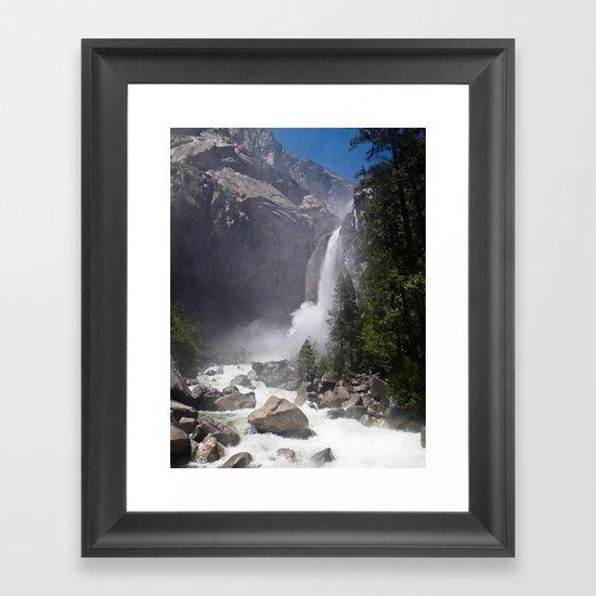 Mists of Nature Framed Art Print