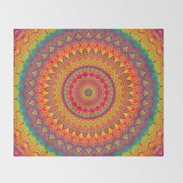 Mandala 507 Throw Blanket
