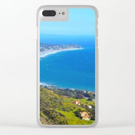 Malibu Point Clear iPhone Case