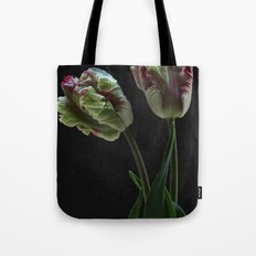 Parrot Tulips Buds Tote Bag