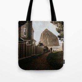 Cozy Cannon Beach, Oregon Tote Bag