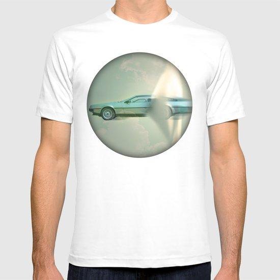 Supersonic Delorean T-shirt