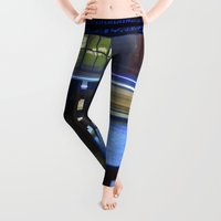 lights Leggings featuring FLOATING LIGHTS by CAPTAINSILVA