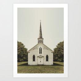 Church of Symmetry Art Print