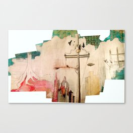 EVOLUTION CITY Canvas Print