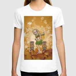 Dancing island girl T-shirt
