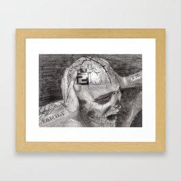 Zombie Boy- Rick Genest Framed Art Print