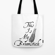This is my broomstick Tote Bag
