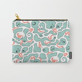 Harrison's Friends on mint Carry-All Pouch