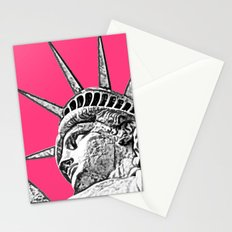 New York Statue Of Liberty Stationery Cards