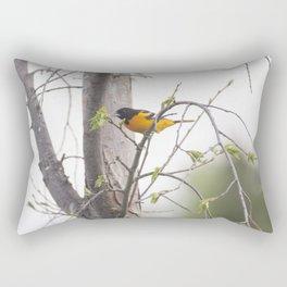 Baltimore Oriole 1 Rectangular Pillow