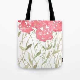 A Bunch Of Red Roses Tote Bag