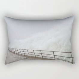 The Violence is Here Rectangular Pillow