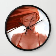 Pepper Bikini Wall Clock