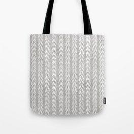 Mud cloth - Grey Arrowheads Tote Bag