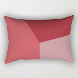 Color block #1 Rectangular Pillow