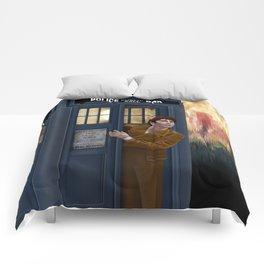 10th Doctor Shockface Comforters