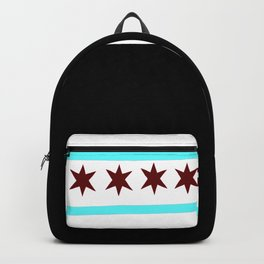 Chicago Flag (traditional) Backpack
