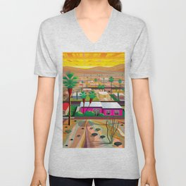 Twentynine Palms Unisex V-Neck