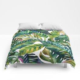 banana life Comforters