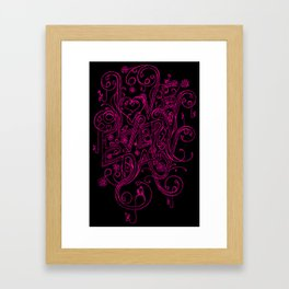 Love Every Day Framed Art Print