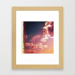 X V I . L U C I D Framed Art Print