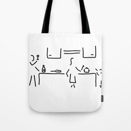 cook kitchen child Tote Bag