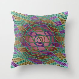 Confined Throw Pillow